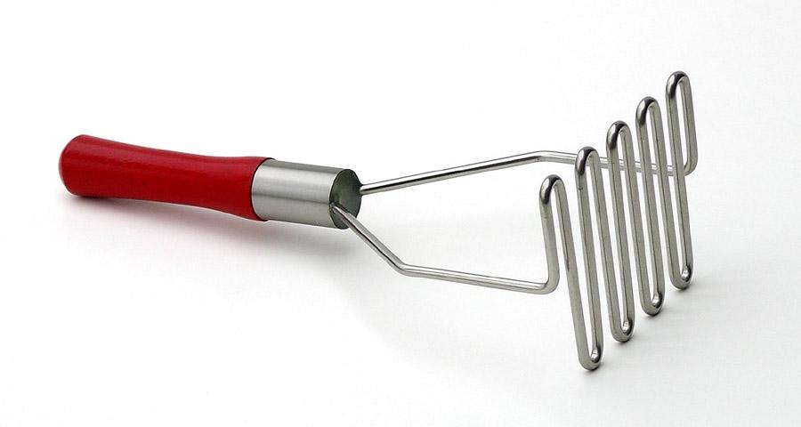Best  Potato Masher Red Handle